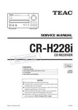 Buy Teac CR-H225&C255 Service Manual by download Mauritron #319326