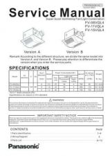 Buy Sharp FV-08VQL4 Manual by download Mauritron #298377