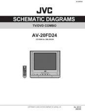 Buy JVC AV-20FD24 SCH Service Manual by download Mauritron #278868