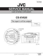 Buy JVC CS-XV620-4 Service Manual by download Mauritron #280244