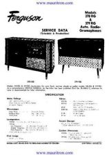 Buy FERGUSON. 378RG. Vintage Wireless. Service Sheets. by download Mauritron #319196