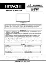 Buy Hitachi YK-006E-1 Service Manual by download Mauritron #287460
