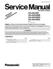 Buy Panasonic SA_EH600 Manual by download Mauritron #301653