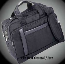 "Buy 16"" Nylon Expandable Briefcase/Computer Laptop Bag Expandable Business Case Soft"
