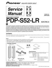 Buy Panasonic PDP-S52-LR Manual by download Mauritron #301242