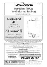 Buy Glow Worm ENERGYSAVER40 UIS by download Mauritron #324453