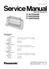 Buy Panasonic TY_WK23LR2W Manual by download Mauritron #302546