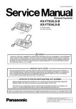 Buy Sharp KX-FT932LS-B Manual by download Mauritron #298432