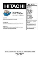 Buy Hitachi C21-F200 Service Manual by download Mauritron #288635