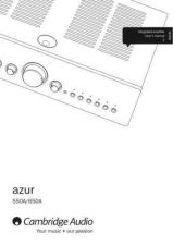 Buy Cambridge Audio AP229432Azur550-650AUsersManual-01English by download Mauritron #3117