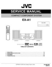 Buy JVC EX-A1-1 Service Manual by download Mauritron #280302