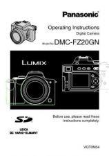 Buy Panasonic DMC-FZ20GC Manual by download Mauritron #298778