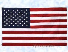 Buy 5' x 3' Embroidered Polyester United States Flag American US USA Indoor Outdoor