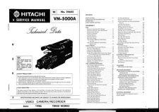 Buy Hitachi VME52A Service Manual by download Mauritron #286860