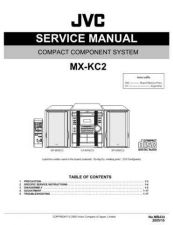 Buy JVC MX-KC2-7 Service Manual by download Mauritron #282984