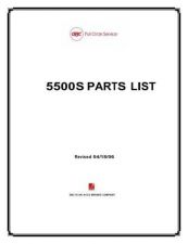 Buy Office Equipment 5500S PARTS SHREDDER by download #335345