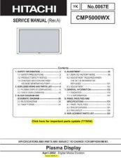 Buy Hitachi YK0067E Service Manual by download Mauritron #331968