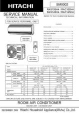 Buy Hitachi R-C- CLU-490IR-360 Service Manual by download Mauritron #285560
