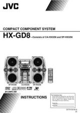 Buy JVC HX-GD8-1 Service Manual by download Mauritron #281670