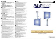 Buy Newstar FPMA D025SILVER Audio Visual Instructions by download #333481