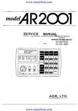 Buy AOR 2001 Service by download Mauritron #324869