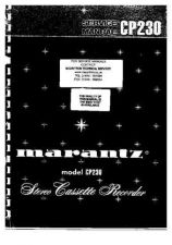 Buy MARANTZ CP230 Service Manual by download Mauritron #330803