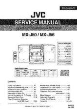 Buy JVC MX-J50 Service Manual by download Mauritron #276313