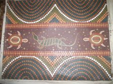 Buy Aboriginal painting Turtle Dreaming canvas. aboriginal culture