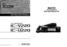Buy Icom IC-F9011 MANUAL Land Mobile Operating Guide by download Mauritron #317365