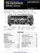 Buy Kenwood TS680S Service Manual by download Mauritron #329553