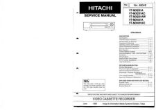 Buy Hitachi VTMX4530A-FX6500A-AC Service Manual by download Mauritron #285924