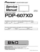 Buy Panasonic PDP-607XD-WYVI5 Manual by download Mauritron #301182