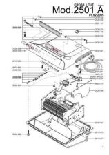 Buy Office Equipment IDEAL 2501 A CROSSCUT 4X40 SHREDDER PARTS by download #335495