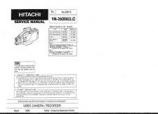 Buy Hitachi VM6400A Service Manual by download Mauritron #291008