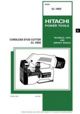 Buy Hitachi CL-10D Tool Service Manual by download Mauritron #319742