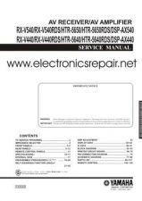 Buy Hitachi HTR-5650RDS-DSP-AX540 Service Manual by download Mauritron #290439