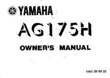 Buy Yamaha 4M3-28199-20 Motorcycle Manual by download #334290