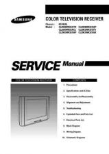 Buy Samsung CL29D8 Service Manual by download Mauritron #322565