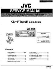 Buy JVC KSRT600 Service Manual by download Mauritron #282525