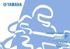 Buy Yamaha 5SU-F8199-E0 Scooter Manual by download #334502