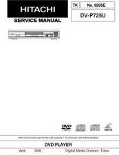Buy Hitachi DVPF33U Service Manual by download Mauritron #289906