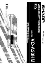 Buy Sharp Vca30Hm-016 Operating Guide by download Mauritron #317657