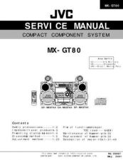 Buy JVC MX-GT80UW Service Manual by download Mauritron #276303