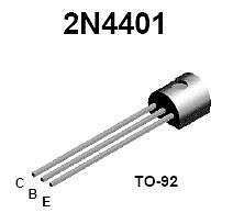 Buy Transistor - 2N4401 NPN (TO-92) - 30 Pieces