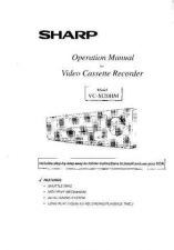 Buy Sharp VCM20HM Video Recorder Operating Guide Version 2 by download Mauritron #306530