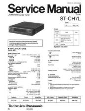 Buy Panasonic ST-CH510 Manual by download Mauritron #301729