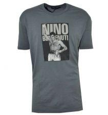 Buy DOLCE & GABBANA T-SHIRT NINO BENVENUTI GREY 01997, Authentic Made in Italy