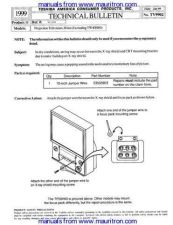 Buy Toshiba TP50H60 Supplement 4 Manual by download Mauritron #312698