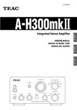 Buy Teac AH300mk2EFS Operating Guide by download Mauritron #318327