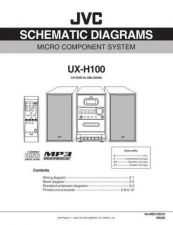 Buy JVC UX-H100-11 Service Manual by download Mauritron #284347